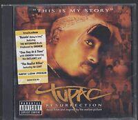 RARE TUPAC RESURRECTION CD SOUNDTRACK 2003 NEW SEALED 2PAC RAP HIP HOP SOUL R&B