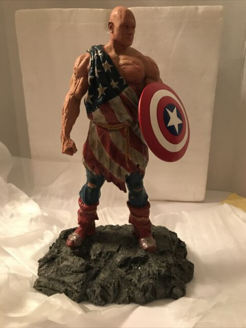 🔥Earth X Cap Resin Statue ( Captain America ) Dynamic Forces 1085/1941 ---NEW🔥