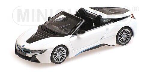 Bmw I8 Roadster I15 White Metallic 2017 MINICHAMPS 1:43 410027031