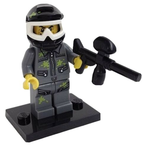 LEGO Paintball Player Minifigure 71001 Series 10 New