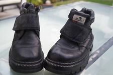 Maiveier Damen Winter Schuhe Stiefel Boots gefüttert Klett V Gr.36 Leder TOP #97