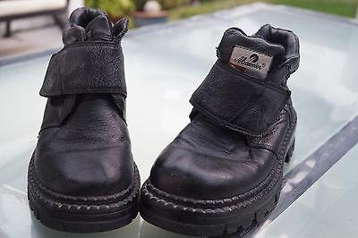 Maiveier Damen Winter Schuhe Stiefel Boots gefüttert Klett V Gr.36 Leder TOP #97 | eBay