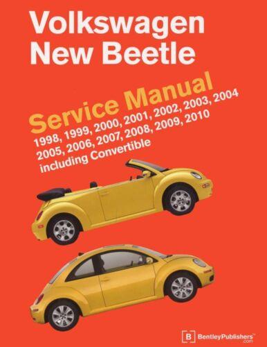 1998-2010 2004 2005 2006 VW Beetle Shop Service Repair Manual