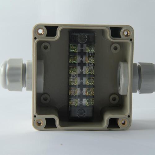 1pc 1 into 1 Industrial  waterproof power splitter threading box  83 81 56mm
