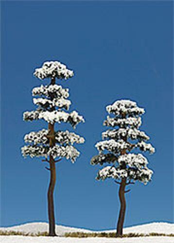 Busch HO 6155 deux de neige-pins 130+160 mm de hauteur #neu en OVP #