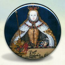 Queen Elizabeth I in Coronation Robes Pocket Mirror