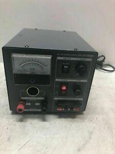Zurich DC Power Supply DS-304M - TESTED WORKING - COOL HAM RADIO BUILDER RARE