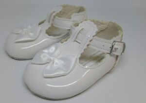 Efficient Baypods Girl's Baby Shoes Patent Bow Christening Wedding Party T-bars 3-6 Month Clothing, Shoes & Accessories