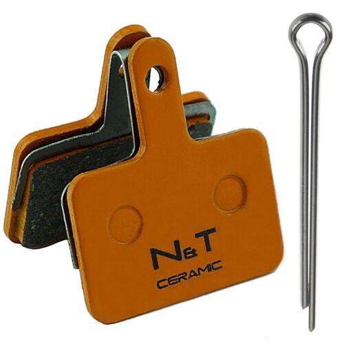 N/&T Promax Q6 DSK 909 915 Solve S ST Lucid Semi Ceramic Sintered Disc Brake Pads