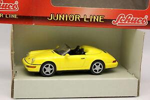 Schuco-1-43-Porsche-911-Speedster-Jaune
