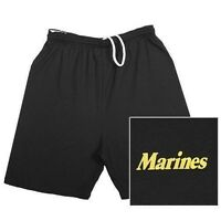 Marines Military Branch Running Shorts- Marine Corps