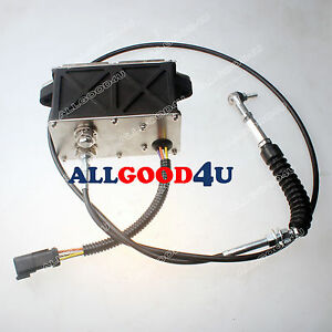Throttle-Motor-151-9326-for-CAT-Eecavator-318B-318BN-with-6-pins-amp-165cm-Cable