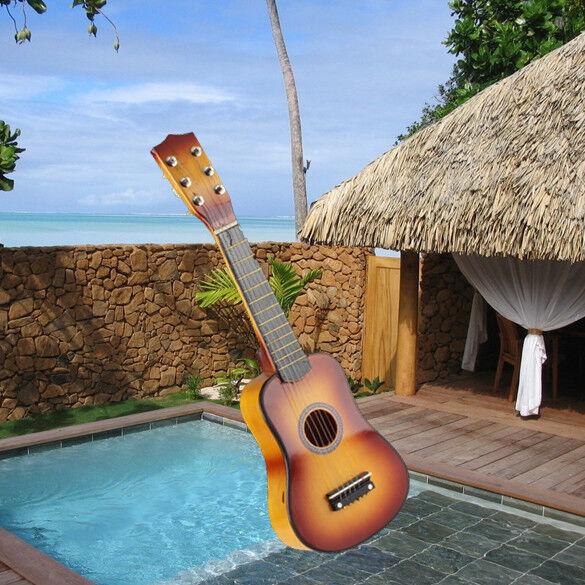 7a707e898c 21'' 6 String Acoustic Classic Guitar Instrument for Children Kids Adult  Gift UK | eBay