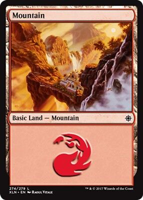 Magic the Gathering FOIL MOUNTAIN x10 card mtg NM basic land cards mixed