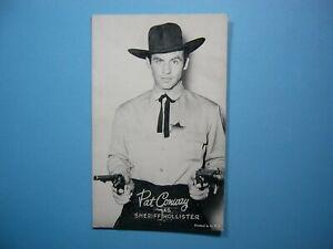 1947-66-ACTORS-amp-ACTRESSES-EXHIBIT-CARD-PHOTO-PAT-CONWAY-SHARP-SHERIFF-HOLLISTER