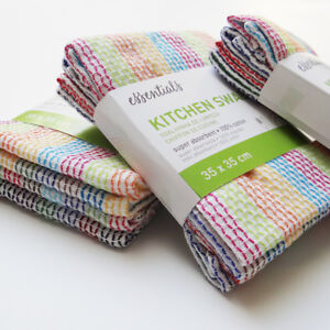 12PCS-High-Absorbent-100-Cotton-Kitchen-cloth-SWAB-Dish-Towels-Tea-Towels-Wipes