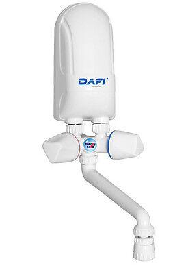 Durchlauferhitzer 5,5 kW 230 V Übertisch m. Armatur DAFI UVP