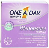 One-a-day Women`s Menopause Formula Multivitamin, 50-tablet Bottle , New, Free S on sale
