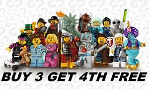 LEGO-MINIFIGURES-SERIES-6-8827-PICK-CHOOSE-YOUR-OWN-BUY-3-GET-1-FREE