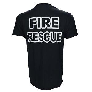Fire-Rescue-Fire-Fighter-Black-T-Shirt