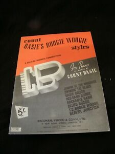 Partition-Count-Basie-039-s-Boogie-Woogie-Styles-Music-Sheet-Music