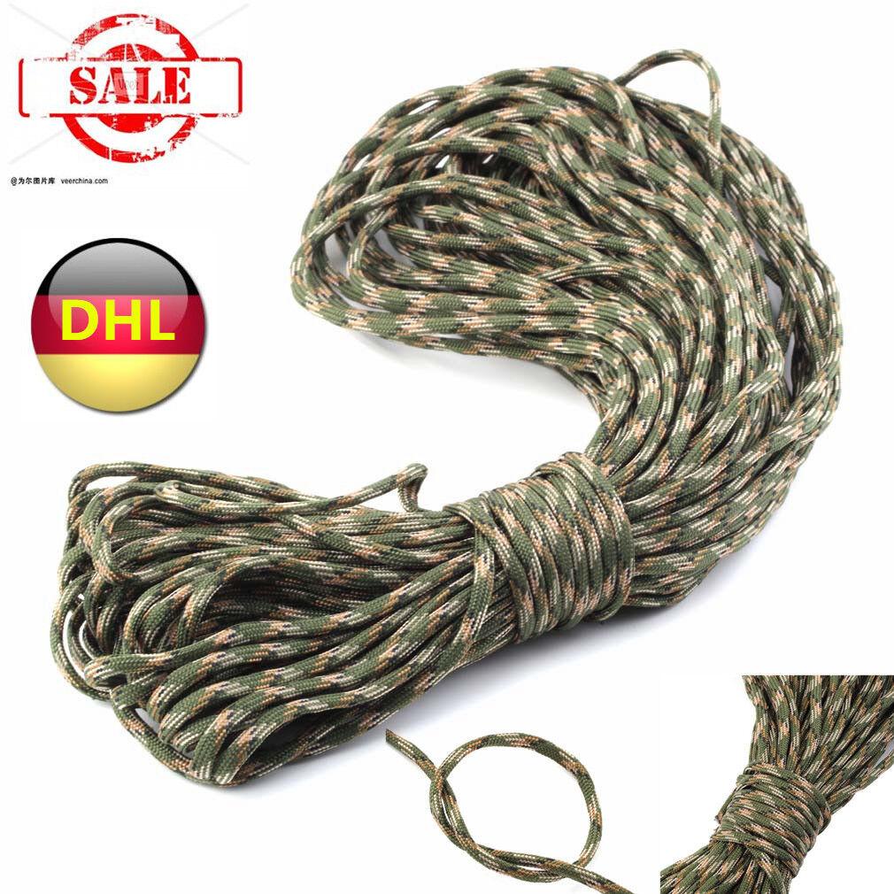 550 Paracord NEU Nylon Seil Leine 30m Fallschirmschnur 30m Leine 100FT Outdoor BYUKST DNU 9dc714
