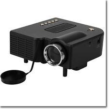 Proiettore Portatile LED Videoproiettore Mini Home Cinema PC USB/SD/AV/HDMI/VGA