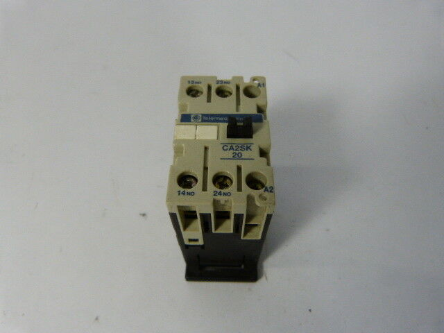 Telemecanique CA2-SK20-G7 Control Relay  USED