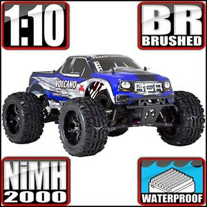 Redcat Racing Volcano EPX 1:10 Blue Electric Brushed 4WD Monster RC Truck