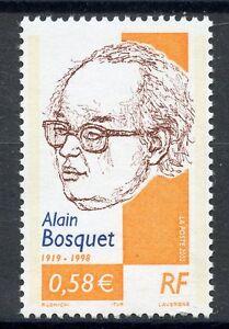 Timbre France Neuf N° 3462 ** Alain Bosquet Ecrivain 100% D'Origine