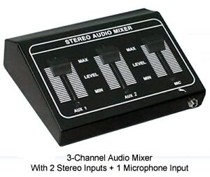 Stereo-Audio-Mini-Mixer-Microphone-Mixer-2-Stereo-RCA-L-R-Inputs-1-Mic-Input