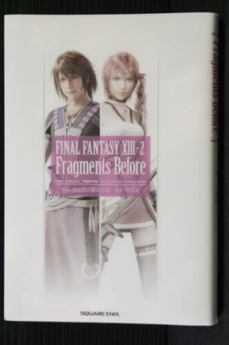 Final Fantasy XIII-2 Fragments Before JAPAN Jun Eishima Novel
