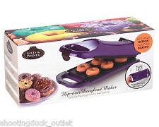 Giles & Posner Purple 180° Flip Over Donut Maker Doughnut