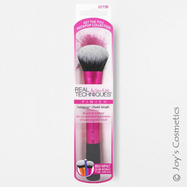 "1 REAL TECHNIQUES Instapop Cheek Brush Makeup ""RT-1736"" Joy's cosmetics"