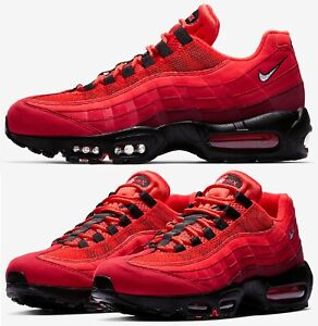 Details about Nike Air Max 95 OG Sneakers Men's Lifestyle Shoes Red