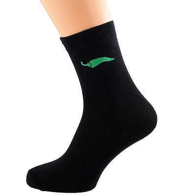 Chilli Pepper Mexican Vegetable Unisex Novelty Ankle Socks Adult Size 6-11