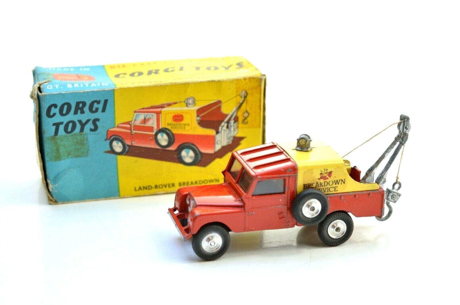 CORGI 417 Land Rover  Dépannage