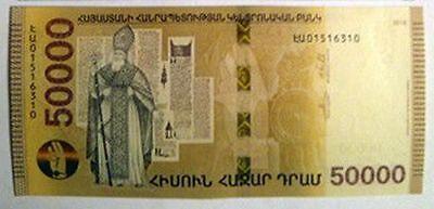 Armenia 2018 NEW Banknote 1000 2000 5000 Dram UNC Hybrid Technology