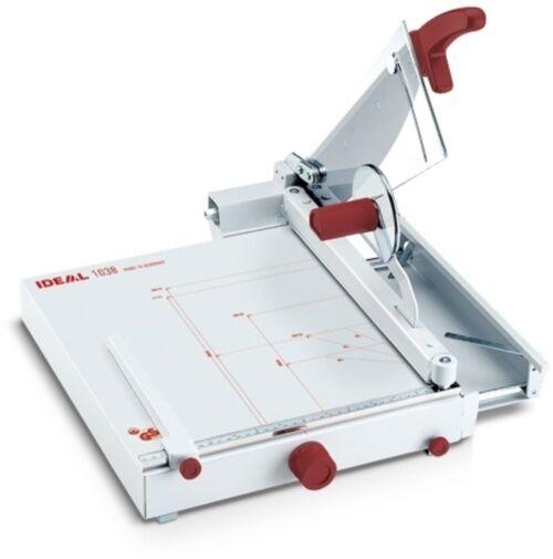 Ideal 1038 Hebel-Schneidemaschine, A4 Hebelschneider, Schnittlänge 385 mm
