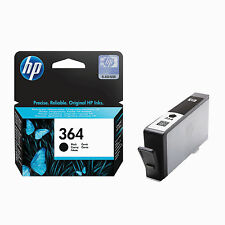 Genuine HP 364 Cartuccia di Inchiostro Nero PhotoSmart 5510 5520 6520 7520 B110a CB316EE
