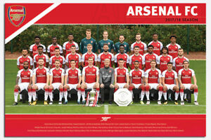 Arsenal-FC-Official-Team-Photo-2017-2018-Season-Poster-New-36-x-24-Inch