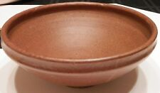 OLD LISTED ARTIST Fine Art POTTERY Ceramic Mid Century Arts and Crafts Bowl 60s