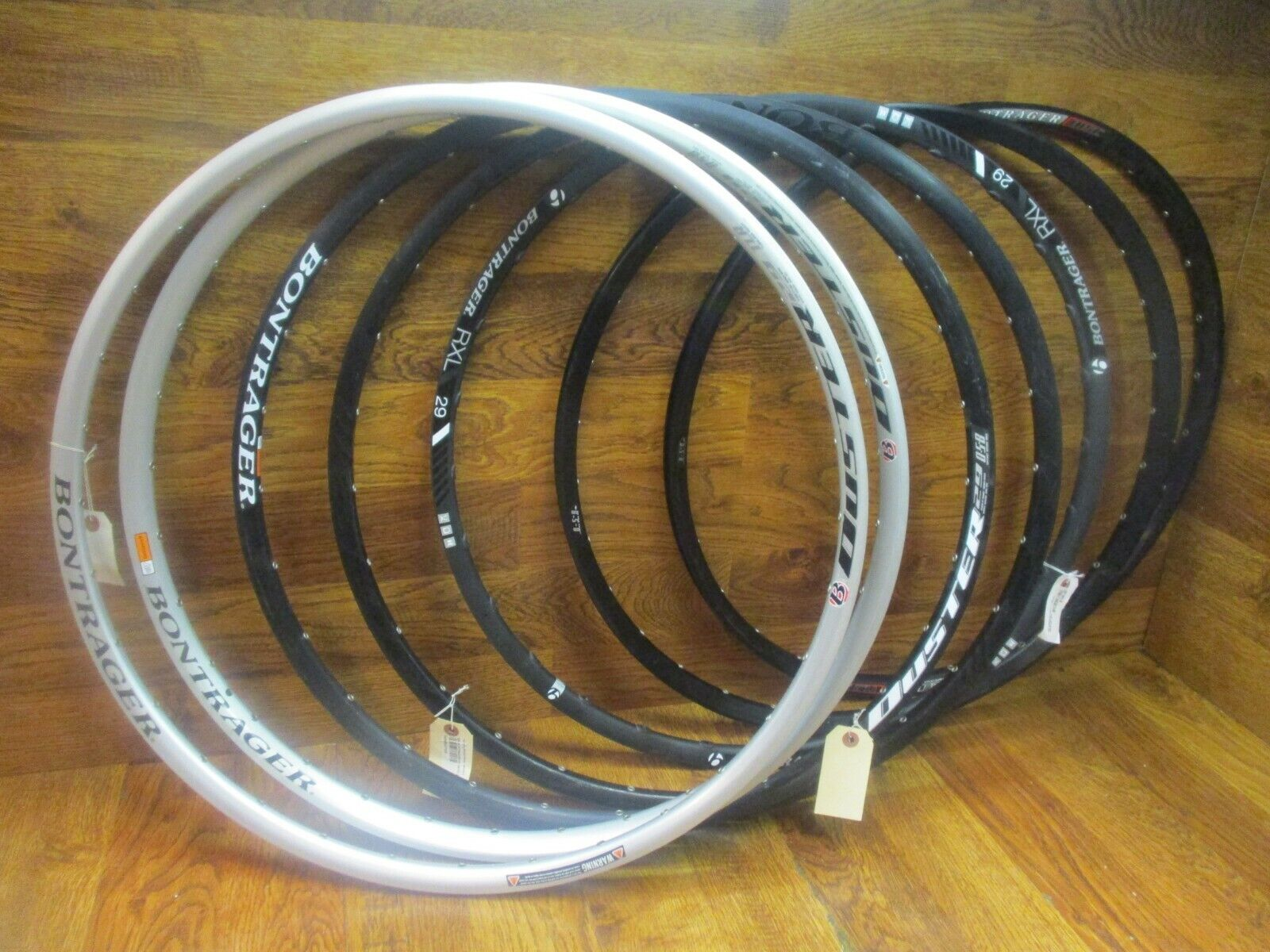 NOS BONTRAGER DUSTER MUSTANG RACE LITE   29  700C RIMS HOOPS (6) - WHEEL BUILDERS  cheapest price
