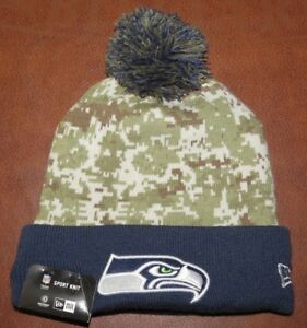 73b2ff983f0 Image is loading New-Era-NFL-Seattle-Seahawks-Salute-To-Service-