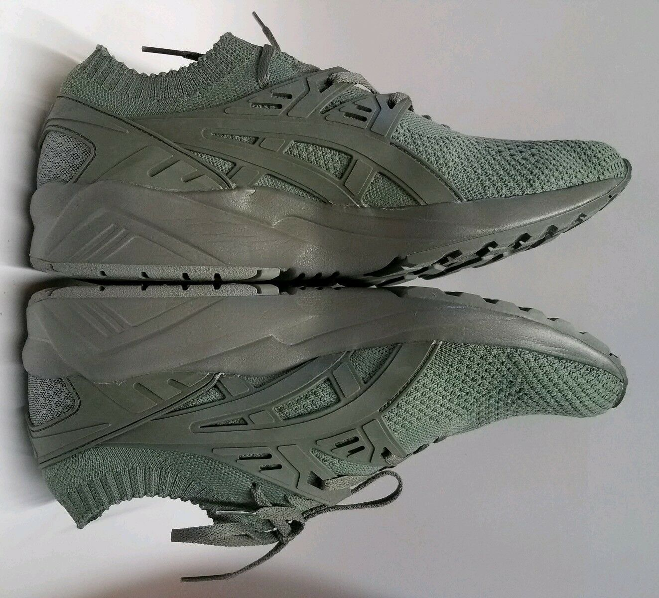 "ASICS GEL-Kayano Knit Trainer ""Agave Green"" Olive shoes Mens Size 11.5"