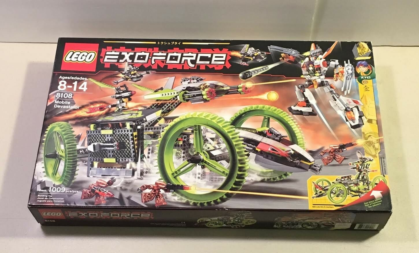 Neues lego 8108 exo - force mobile devastator 2007 besiegelt