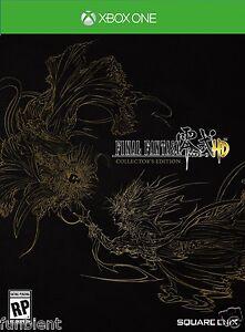Final-Fantasy-Type-0-HD-Collectors-Edition-CE-Zero-XBONE-XBOX-ONE-FF-15-DEMO