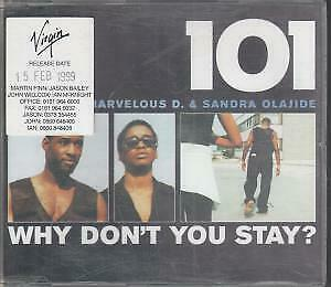 101 Why Don't You Stay CD UK Virgin 1999 3 Track Radio Edit With Release Date