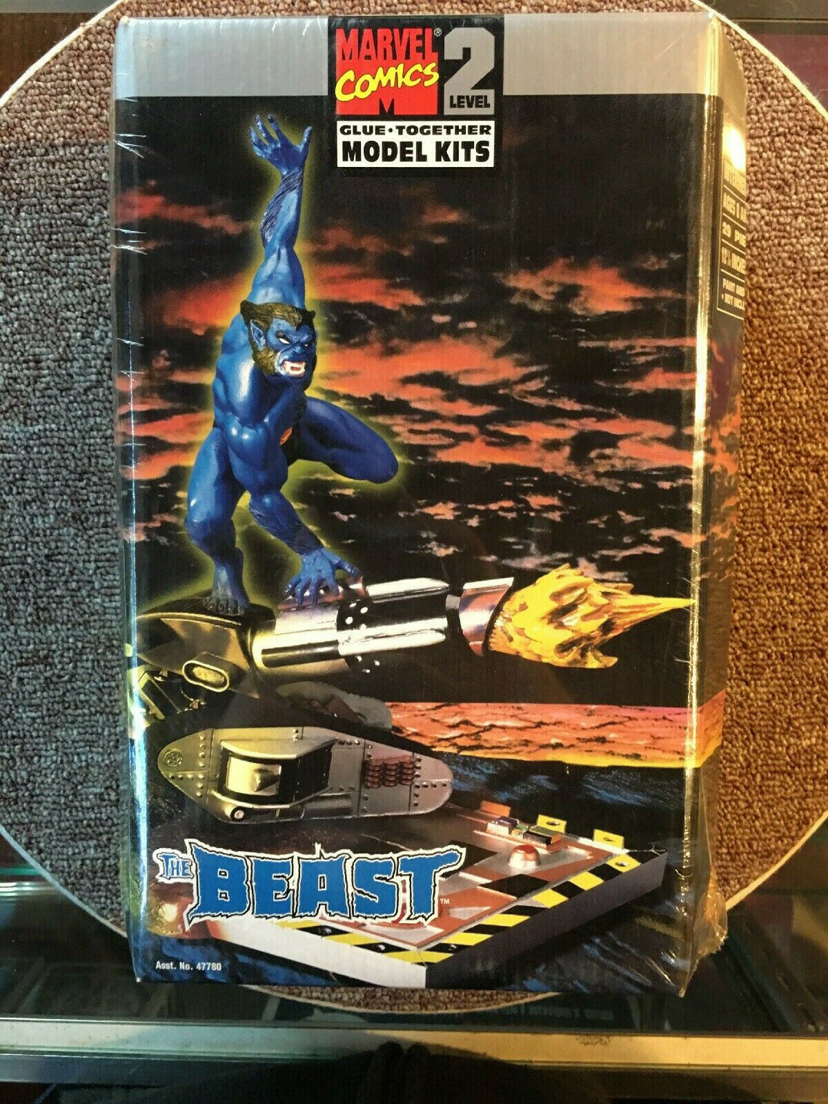 Toy Biz - Marvel Comics - Glue Together Model Kits - Level 2 - The Beast - MIB