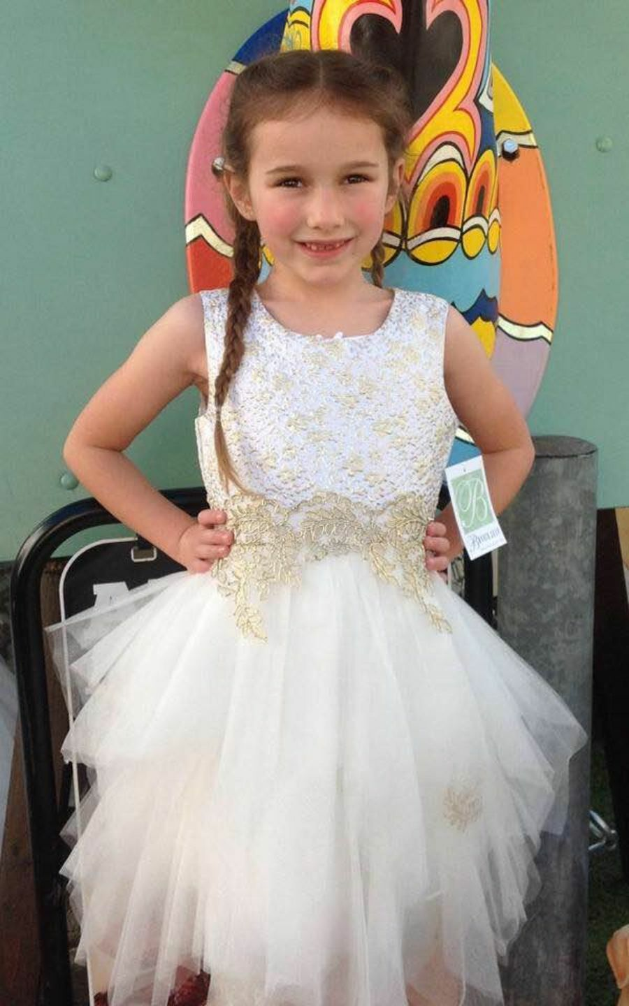 New SALE Girls Age 16 Fancy Fairy Party Dresses Special Occasions Dress Wedding